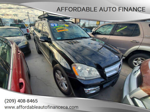 2007 Mercedes-Benz GL-Class for sale at Affordable Auto Finance in Modesto CA