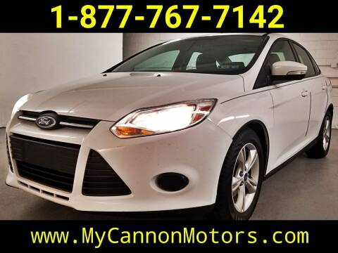 2014 Ford Focus for sale at Cannon Motors in Silverdale PA
