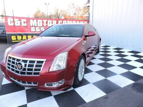 2012 Cadillac CTS for sale at C & C Motor Co. in Knoxville TN