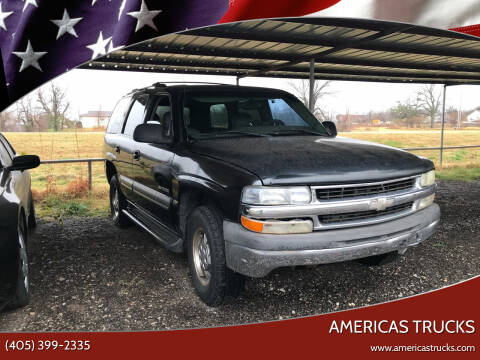 2003 Chevrolet Tahoe for sale at Americas Trucks in Jones OK