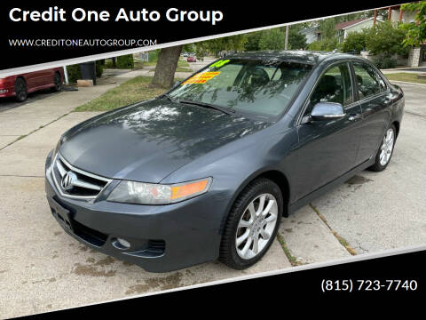 2008 Acura TSX for sale at Credit One Auto Group in Joliet IL