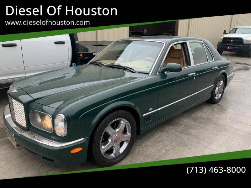 2001 Bentley Arnage for sale at Diesel Of Houston in Houston TX