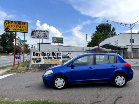 2009 Nissan Versa for sale at Cherokee Auto Sales in Knoxville TN