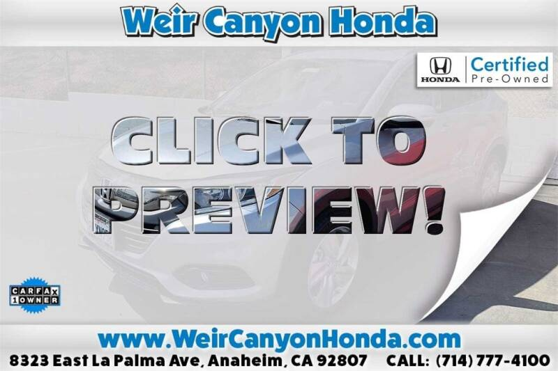2019 Honda HR-V for sale in Anaheim, CA