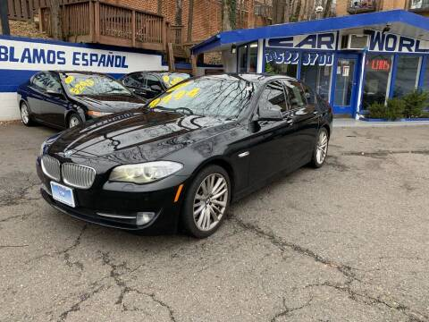 2011 BMW 5 Series for sale at Car World Inc in Arlington VA