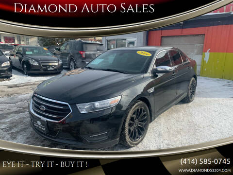 2014 Ford Taurus for sale at Diamond Auto Sales in Milwaukee WI