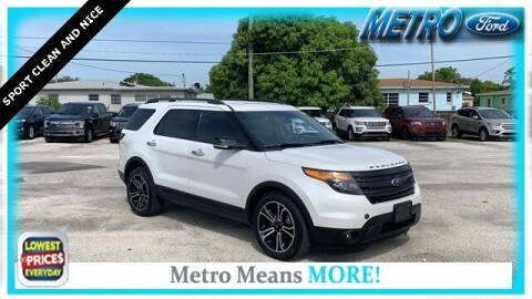 2014 Ford Explorer for sale at Your First Vehicle in Miami FL