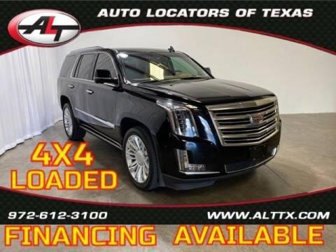 2015 Cadillac Escalade for sale at AUTO LOCATORS OF TEXAS in Plano TX