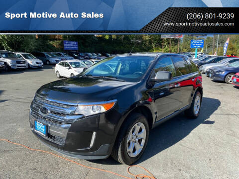 2011 Ford Edge for sale at Sport Motive Auto Sales in Seattle WA