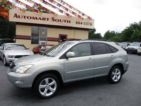 2008 Lexus RX 350 for sale at Automart South in Alabaster AL