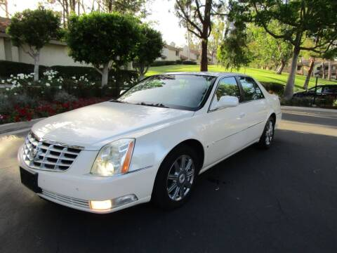 2007 Cadillac DTS for sale at E MOTORCARS in Fullerton CA
