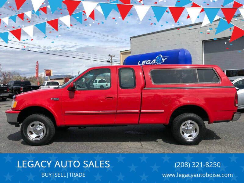 1997 Ford F-150 for sale at LEGACY AUTO SALES in Boise ID