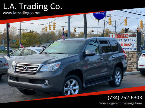 2010 Lexus GX 460 for sale at L.A. Trading Co. in Woodhaven MI