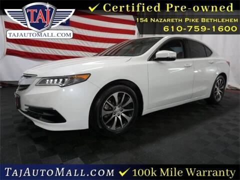 2016 Acura TLX for sale at Taj Auto Mall in Bethlehem PA