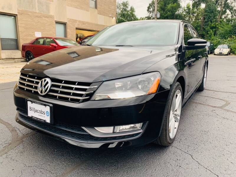 2013 Volkswagen Passat for sale at Quality Auto Sales And Service Inc in Westchester IL