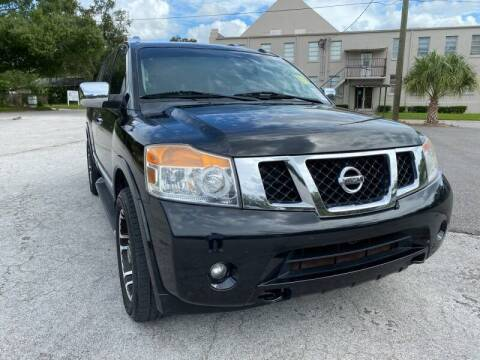 2014 Nissan Armada for sale at LUXURY AUTO MALL in Tampa FL