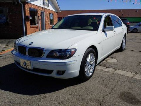 2006 BMW 7 Series for sale at L&M Auto Import in Gastonia NC