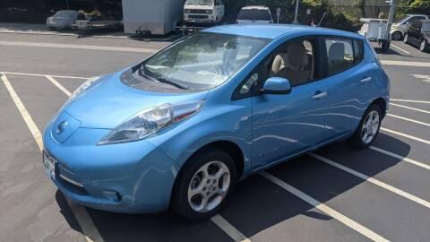2012 Nissan LEAF for sale at RAJ Auto Repair & Sales in San Jose CA