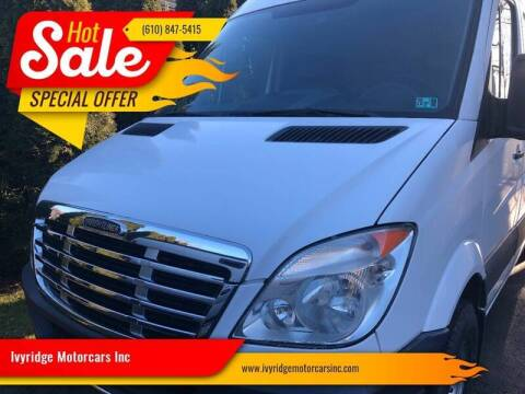 2010 Freightliner Sprinter Cargo for sale at Ivyridge Motorcars Inc in Ottsville PA