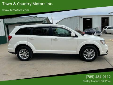 2017 Dodge Journey for sale at Town & Country Motors Inc. in Meriden KS
