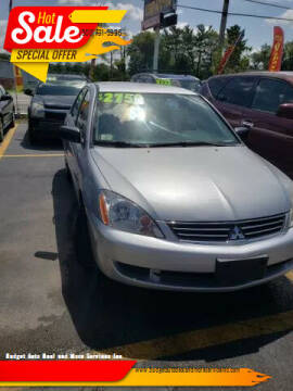 2007 Mitsubishi Lancer for sale at Budget Auto Deal and More Services Inc in Worcester MA