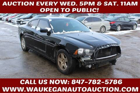 2012 Dodge Charger for sale at Waukegan Auto Auction in Waukegan IL