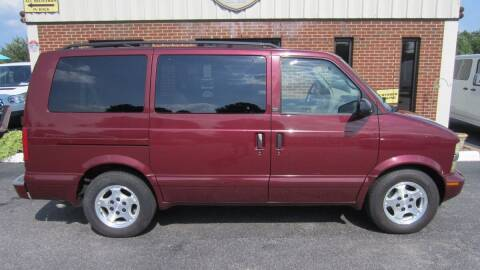 2004 Chevrolet Astro for sale at Vans Of Great Bridge in Chesapeake VA