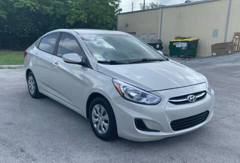 2016 Hyundai Accent for sale at FINE AUTO XCHANGE in Oakland Park FL