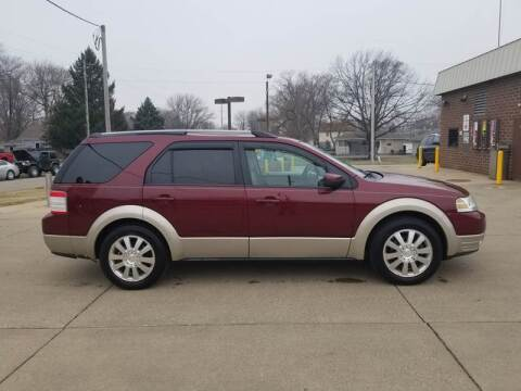 2008 Ford Taurus X for sale at RIVERSIDE AUTO SALES in Sioux City IA