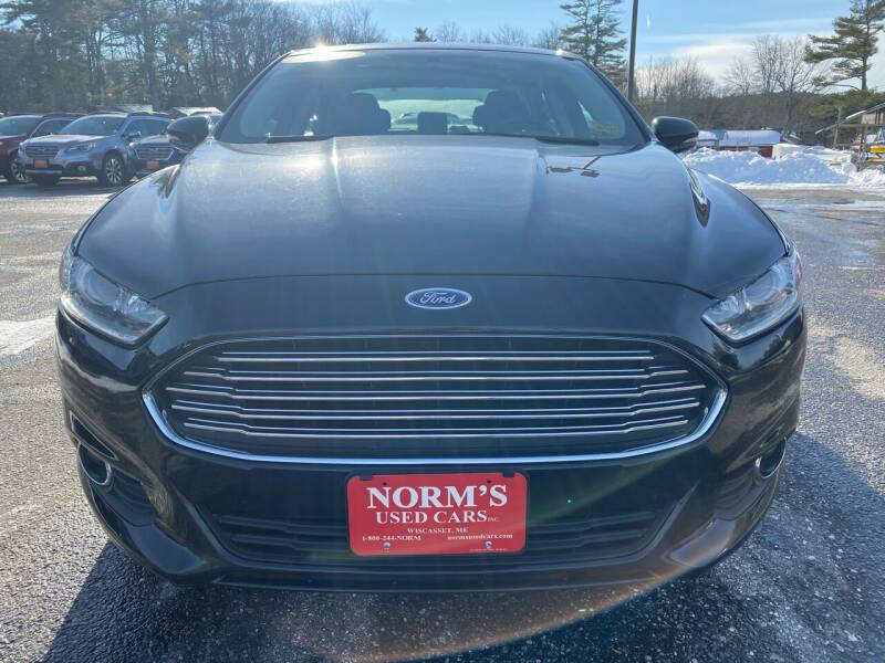 2014 Ford Fusion for sale at NORM'S USED CARS INC in Wiscasset ME