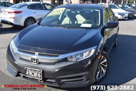 2017 Honda Civic for sale at www.onlycarsnj.net in Irvington NJ