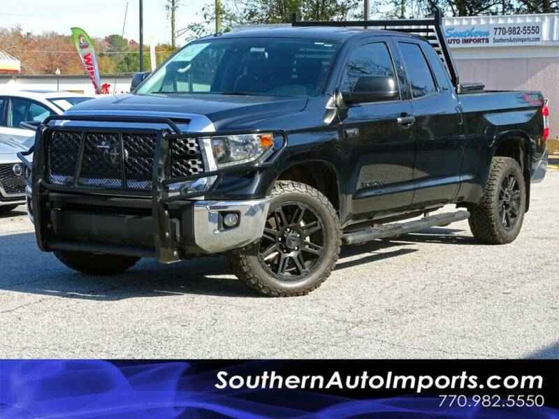 2018 Toyota Tundra for sale at Used Imports Auto - Southern Auto Imports in Stone Mountain GA