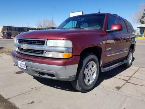2003 Chevrolet Tahoe for sale at Alpine Motors LLC in Laramie WY
