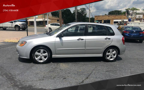 2008 Kia Spectra for sale at Autoville in Kannapolis NC