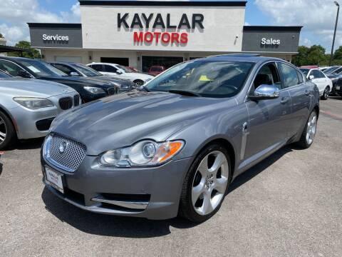 2009 Jaguar XF for sale at KAYALAR MOTORS in Houston TX