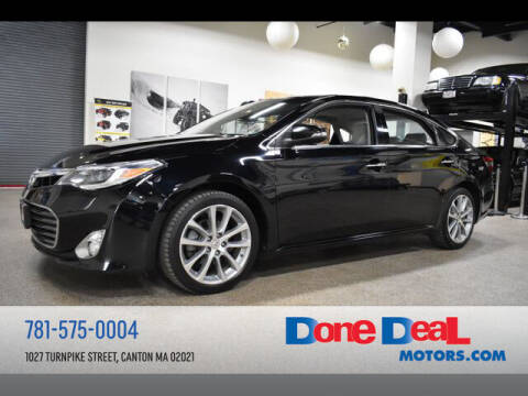 2014 Toyota Avalon for sale at DONE DEAL MOTORS in Canton MA