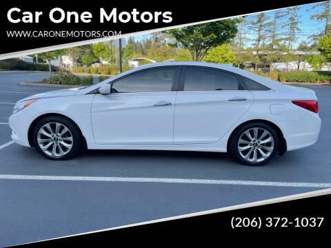 2013 Hyundai Sonata for sale at Car One Motors in Seattle WA