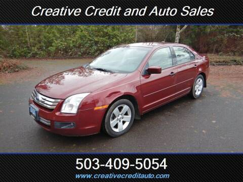 2007 Ford Fusion for sale at Creative Credit & Auto Sales in Salem OR
