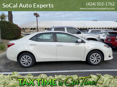 2018 Toyota Corolla for sale at SoCal Auto Experts in Culver City CA
