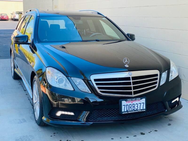 2011 Mercedes-Benz E-Class for sale at Auto Zoom 916 Rancho Cordova in Rancho Cordova CA