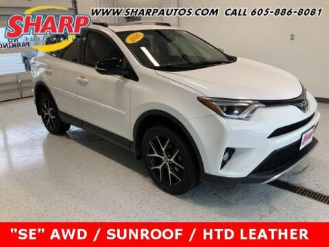 2016 Toyota RAV4 for sale at Sharp Automotive in Watertown SD