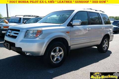 2007 Honda Pilot for sale at L & S AUTO BROKERS in Fredericksburg VA