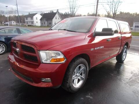 2012 RAM Ram Pickup 1500 for sale at Dansville Radiator in Dansville NY