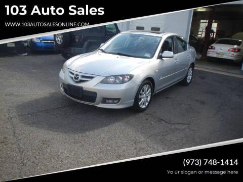 2007 Mazda MAZDA3 for sale at 103 Auto Sales in Bloomfield NJ