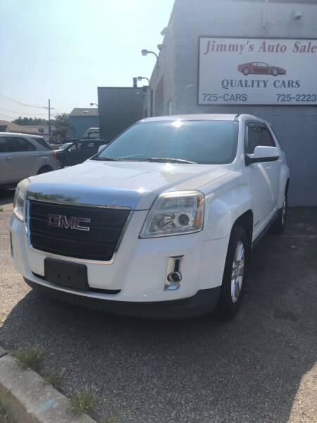 2012 GMC Terrain for sale at Jimmys Auto Sales in North Providence RI