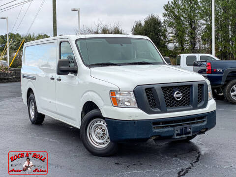 2013 Nissan NV Cargo for sale at Rock 'n Roll Auto Sales in West Columbia SC