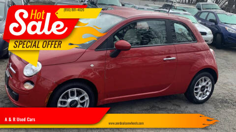 2012 FIAT 500 for sale at A & R Used Cars in Clayton NJ