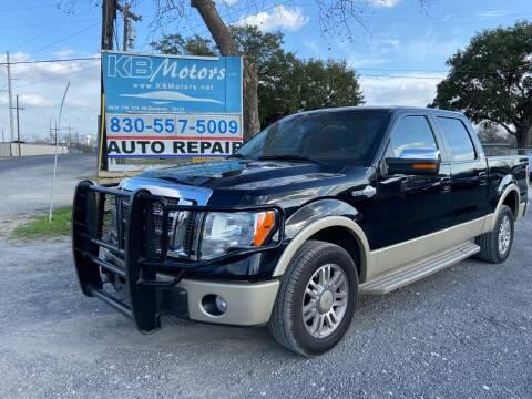 2009 Ford F-150 for sale at K & B Motors LLC in Mc Queeney TX
