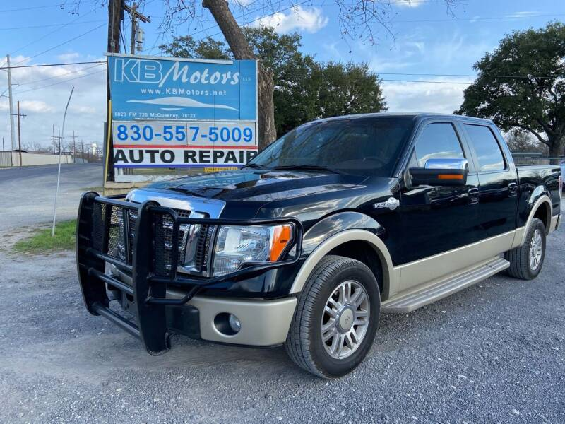 2009 Ford F-150 for sale at K & B Motors LLC in Mc Queeney TX