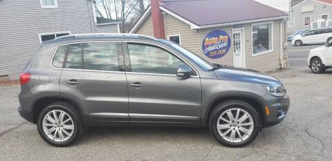 2012 Volkswagen Tiguan for sale at Auto Pro Auto Sales-797 Sabattus St. in Lewiston ME
